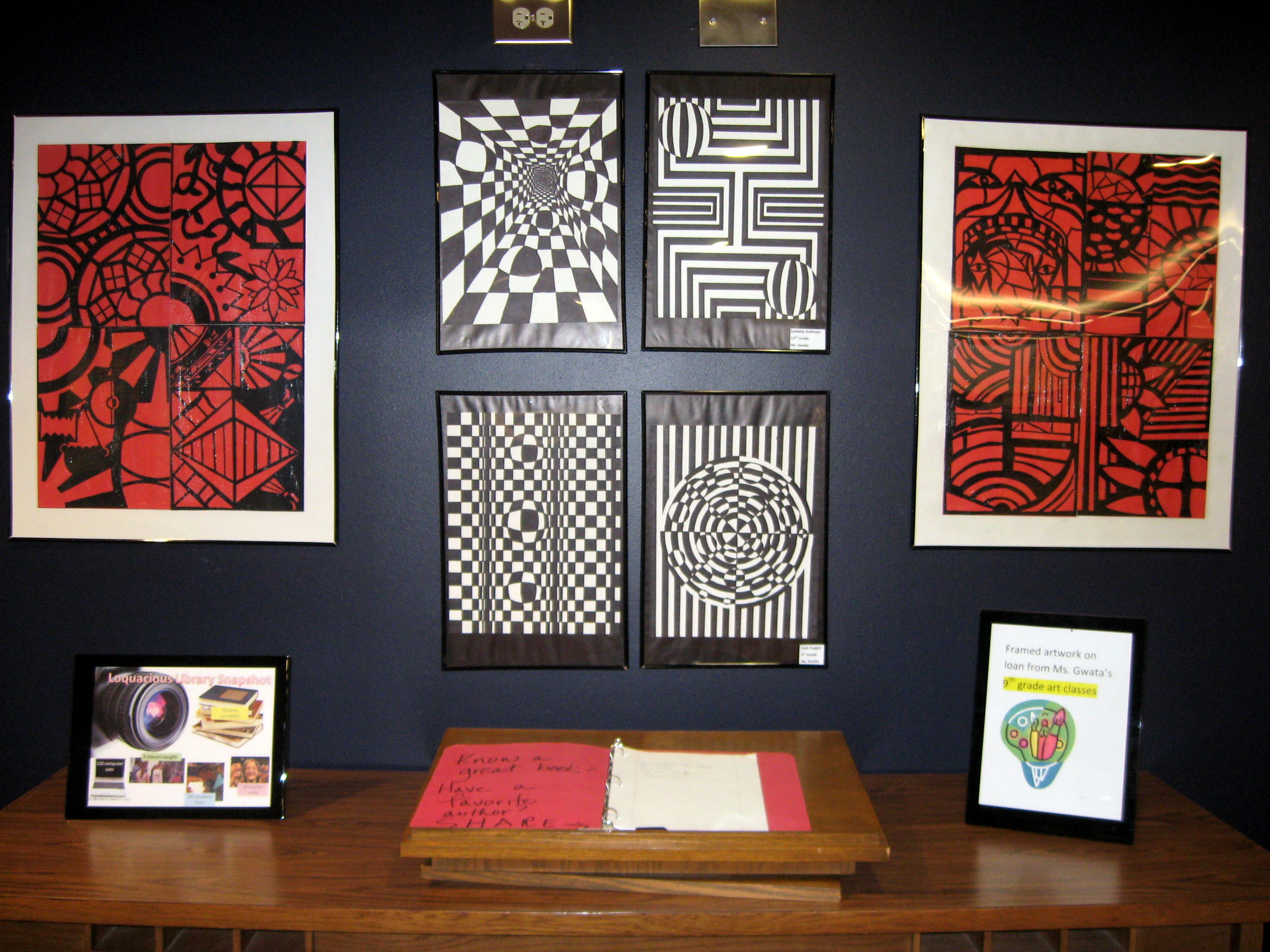 Wall Of Art wall of art | loquacious library