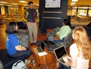 sept 9 adam instructing small group