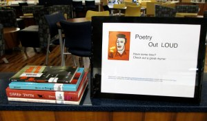 dec 4 poetry display for poetry out loud