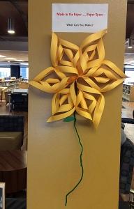 mar 23 makerspace flower